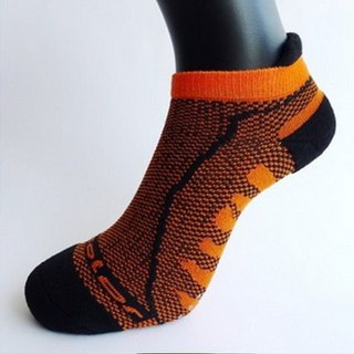 MIT Bamboo Carbon with Breathable Cushion Antiskid Sports Socks _Orange 2 into the group
