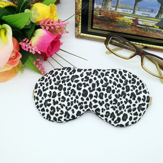 Leopard adjustable sleep eye mask with beam storage bag sleep mask*SK*