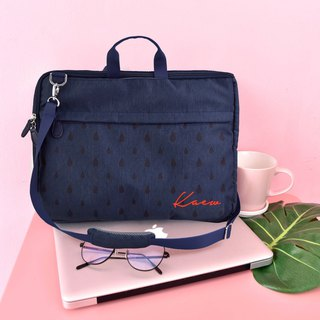 "13"",15"" dark blue laptop /macbook sleeve laptop bag"