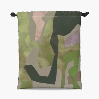 Drawstring Pouch - 束口袋 - Camouflage II
