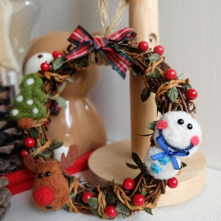 sleeping original handmade Christmas day, I love you Christmas Confession I love you [Christmas wreath]