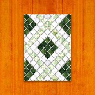 Old House - Classic Mosaic Tile Postcard – 49