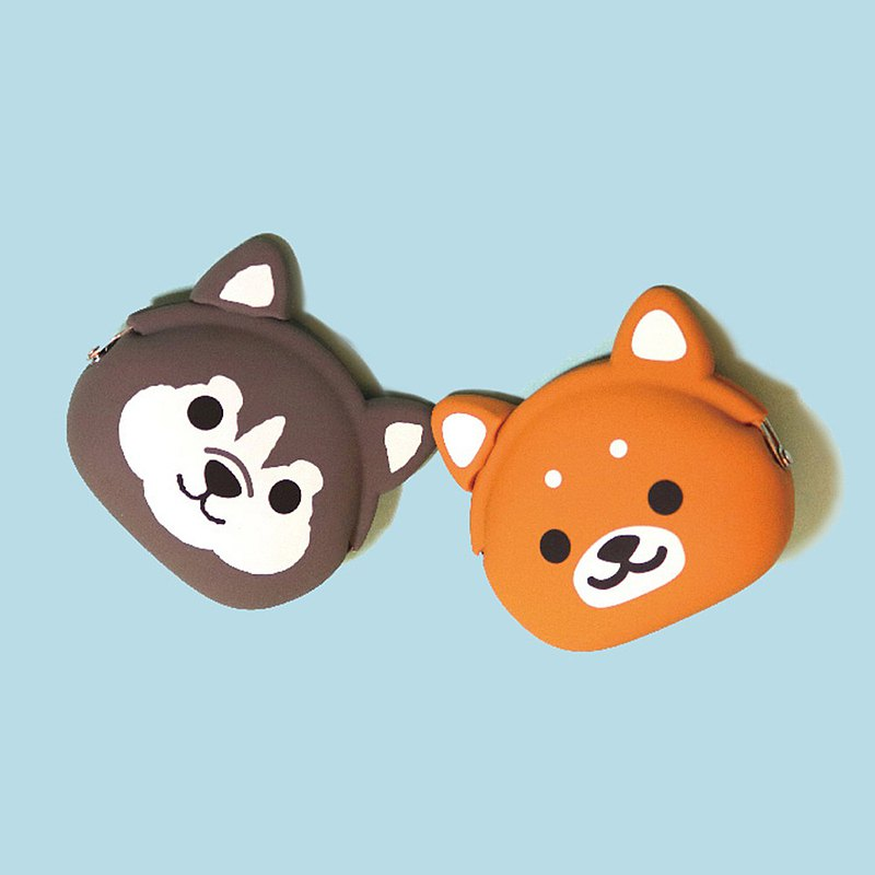 mimi POCHI Friends Animal Model Mouth Golden Pack Shiba Inu | Coin Purse Gift Storage Bag