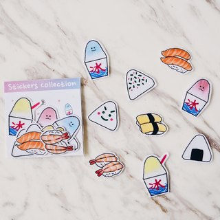 Japanese food 2 / transparent stickers