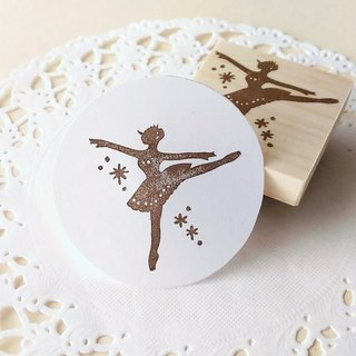 Ballerina sticker / Arabesque
