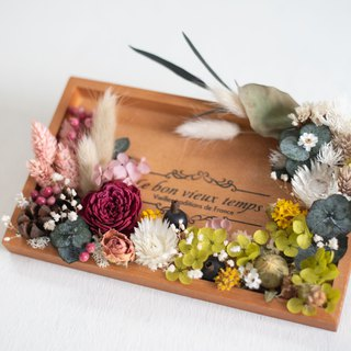 Photo frame, flower, dry flower, random delivery, Valentine's Day, birthday ceremony, wedding, teacher's day
