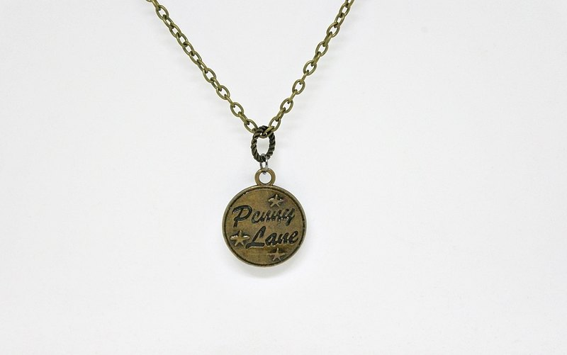 Alloy Necklace <Text Card> => Limited X1