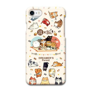 (Spot) afu Illustration Phone Case - iPhone7 / 7s - One Hundred Cats Live