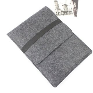 Genuine Pure Handmade Dark Gray Felt Microsoft Computer Case Felt Set Trolley Computer Case Surface Pro 4 Plus Type Keyboard Case cover type cover touch cover (can be tailored) - 015