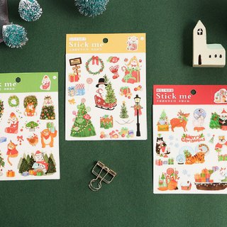 Christmas series and paper stickers, handbook albums, decorative paintings, 3 optional
