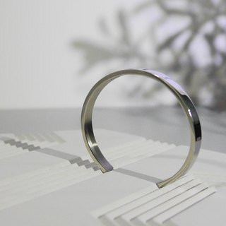 Customized Name 925 Sliver Minimal Bangle