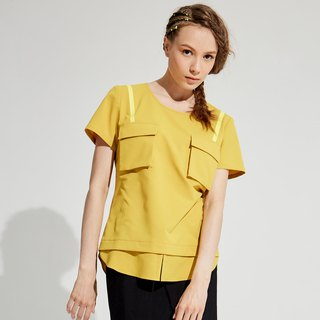 Three-dimensional pocket top / (1801TP03YL-S/M)
