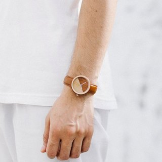 2 Tone Wood Collection | Minimalist Handmade Watch Made of Wood – Light Brown