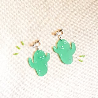 Cactus / earrings