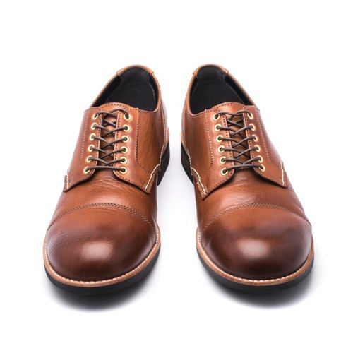 ARGIS Japanese outer feather root handmade wing leather shoes  71140咖啡-Japan  handmade - Designer ARGIS Japan Handmade Leather Shoes  4858e831745