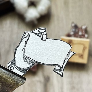 Hand- drawn stamp Handwritten