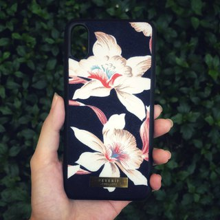 Cloth Fabric Fabric Flower Mobile Shell -The Azalea (Pink) iphone X/8plus/8/7/7plus/6plus/6