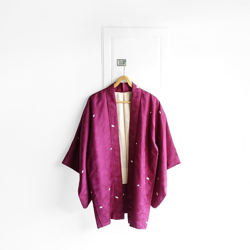 │Slowly │ Japanese antique - light kimono jacket N8 │ ancient. Vintage. Retro.