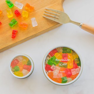 Gummy bears handmade soap