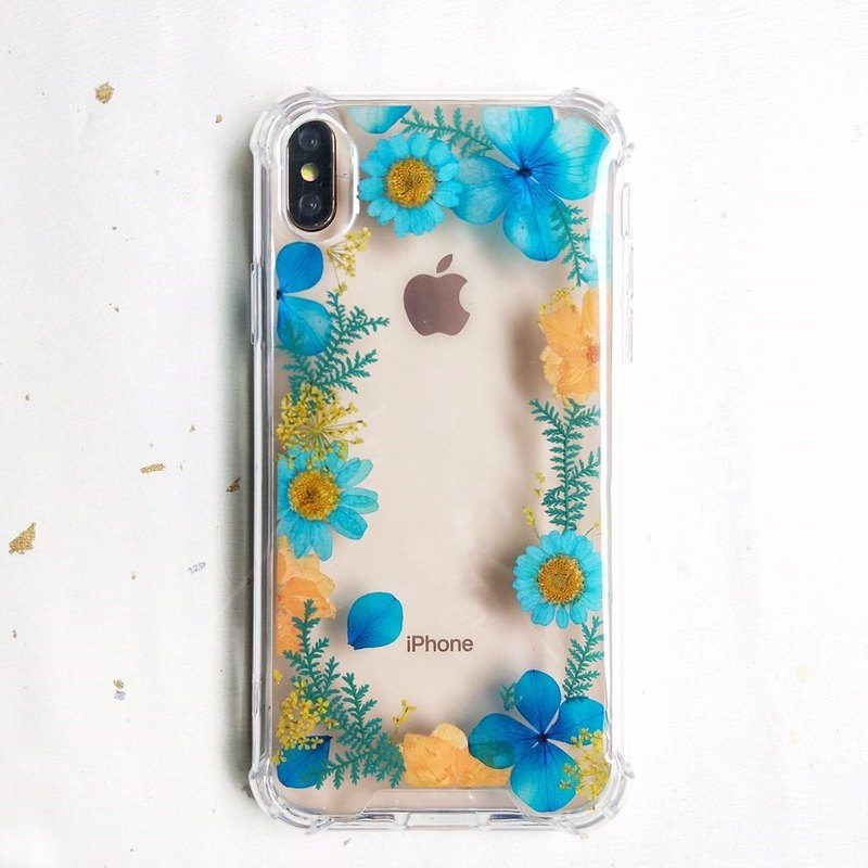 And dreams of paradise dry flower phone case