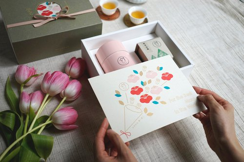 [Mother's Day Limited] 椿 茶 茶 Camellia Gift Box / Card Writing Services