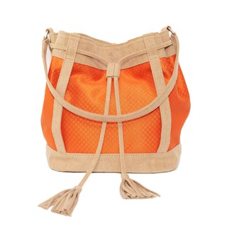 C major / FA bucket bag / orange