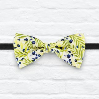 Style 0226 Fresh Yellow Grass Bowtie - Wedding Bowtie, Gift for Him, Toddler Bow tie, Groomsmen bow tie, Pre Tied and Adjustable Novioshk