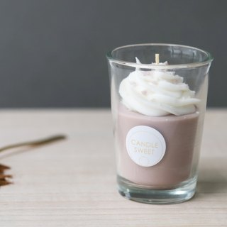 Dessert Candle - Mocha Latte - 120ml Mocha Latte - Handmade Natural Oil Soy Candle