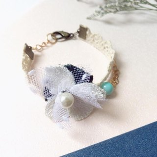 Puputraga Uesugi flower life / forest department hand made flower elegant bracelet
