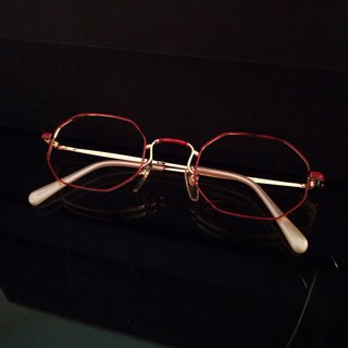 Monroe Optical Shop / Japan 90s Antique Glasses Frame M06 vintage