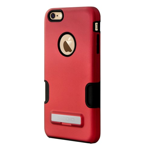 Professional Double Shelves / Case for iPhone 6 Plus / 6s Plus - Hot Red-DILEX Pro ™ Series