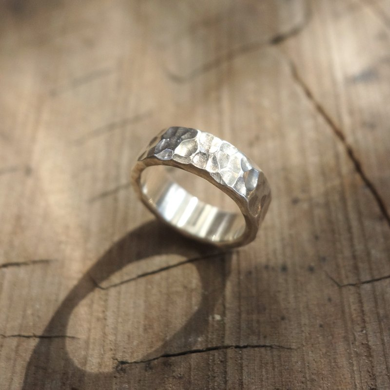 Sterling Silver - Water Ripple Ring - Can be purchased inside lettering