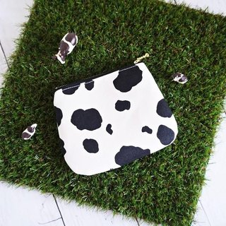 Cute cow pouch