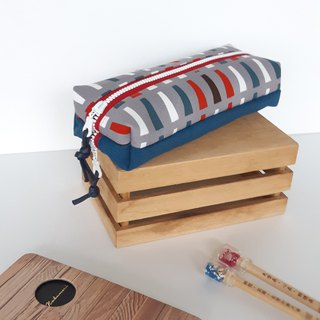 Line double-layer pencil bag school graduates exchange gifts