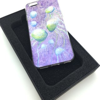 Jellyfish game illustrator double mobile phone shell