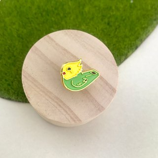 Bird Whistle Enamel Pin