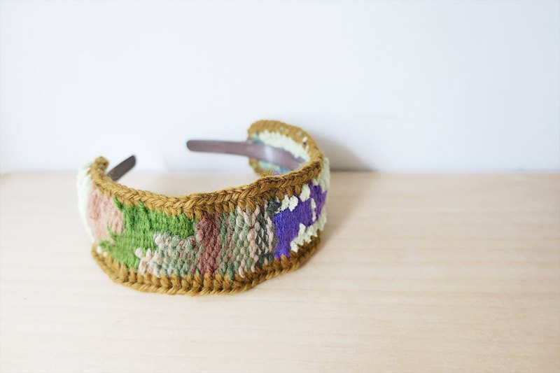 [Endorphin] hand-woven wide version of the headband