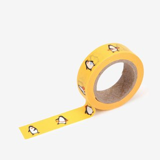 Dailylike single roll of paper tape-92 Penguin, E2D01707