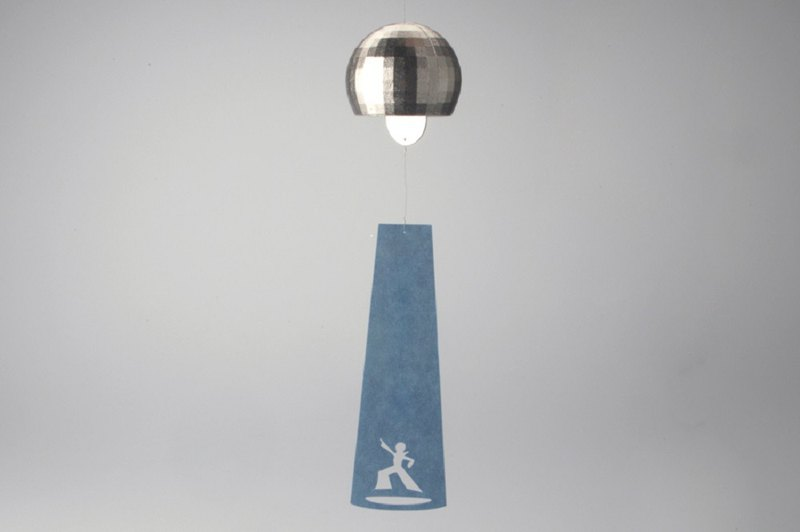 Wind chime (disco ball)