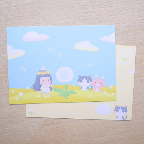 Dandelion Wish / ChiaBB Illustration Postcard