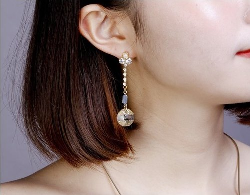 [JewCas] Miel Earrings / JC2323