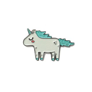Unicorn Turqiose Pin