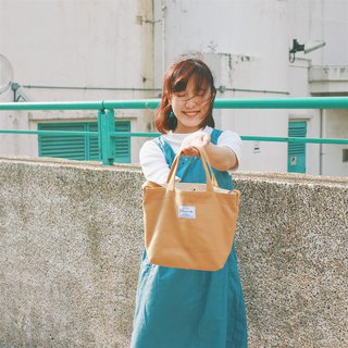 Traveling dual-use crossbody bag (yellow) / 815a.m