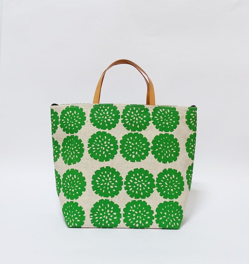 Screen printing  Tote bag  flower