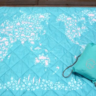 Nuhox roar lion [thick pad] ice world - picnic mat, camp pad and furnishings