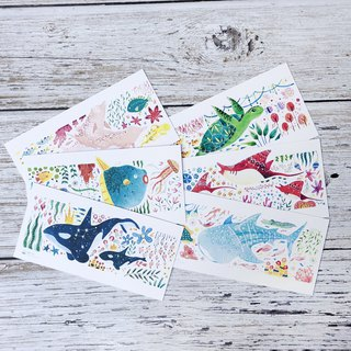 Ocean Friends Postcard Set (set of 6)