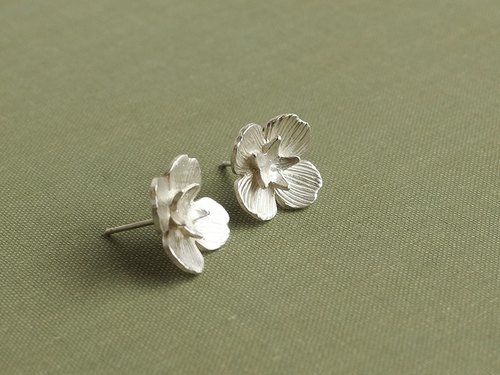 A sterling silver ear / earrings