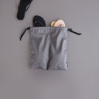 ICONIC Travel Separated Drawstring Pocket - Clothing - Charcoal, ICO52521