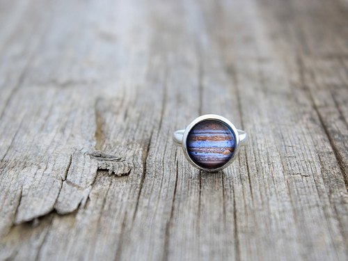 Jupiter, Jupiter Jewelry, Planet Jupiter, Jupiter Ring, Space, Space Jewelry, Space Ring, Solar System, Solar System Ring, Cosmic Ring