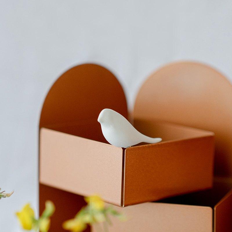 PANAI鳥與花香/磁鐵鳥一對